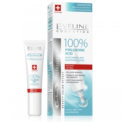 100% HYALURONIC ACID FACE THERAPY PROFESSIONAL -15 ML